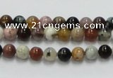 COS38 15.5 inches 6mm round ocean stone beads wholesale