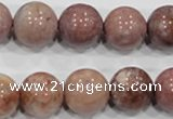 COS62 15.5 inches 13mm round ocean stone beads wholesale