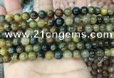 CPB1060 15.5 inches 4mm round natural pietersite beads wholesale