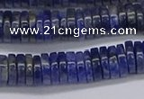 CRB1023 15.5 inches 2*7mm heishi sodalite beads wholesale