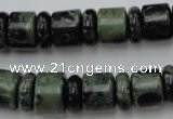 CRB139 15.5 inches 6*12mm & 10*12mm rondelle kambaba jasper beads