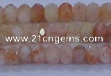 CRB1870 15.5 inches 2.5*4mm faceted rondelle sunstone beads