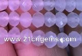 CRB1961 15.5 inches 3.5*5mm faceted rondelle white moonstone beads