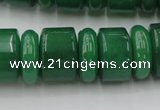 CRB202 15.5 inches 6*18mm � 13*18mm rondelle green aventurine beads