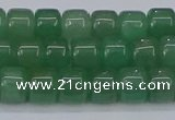 CRB2503 15.5 inches 6*8mm rondelle green aventurine beads