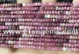 CRB3201 15.5 inches 2*3.5mm faceted rondelle tourmaline beads