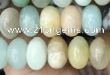 CRB4078 15.5 inches 5*8mm rondelle amazonite beads wholesale
