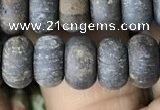 CRB5077 15.5 inches 5*8mm rondelle matte bronzite beads wholesale