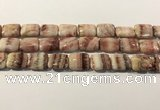 CRC1098 15.5 inches 15*20mm rectangle rhodochrosite beads