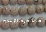 CRC153 15.5 inches 10mm round Argentina rhodochrosite beads