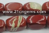 CRE21 16 inches 16*25mm nugget natural red jasper beads wholesale