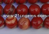 CRE304 15.5 inches 12mm round red jasper beads wholesale