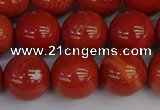 CRE314 15.5 inches 12mm round red jasper beads wholesale