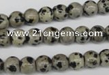 CRO101 15.5 inches 8mm round dalmatian jasper beads wholesale