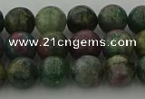 CRO1112 15.5 inches 8mm round ruby apatrite beads wholesale
