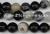 CRO198 15.5 inches 10mm round agate gemstone beads wholesale