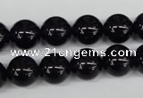 CRO336 15.5 inches 12mm round amethyst gemstone beads wholesale