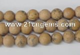 CRO91 15.5 inches 8mm round Chinese wood jasper beads wholesale