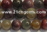 CRZ1035 15.5 inches 6mm - 6.5mm round A grade ruby sapphire beads