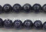 CRZ823 15.5 inches 8mm round natural sapphire gemstone beads