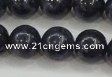 CRZ825 15.5 inches 12mm round natural sapphire gemstone beads