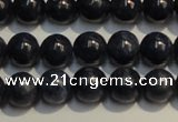 CRZ954 15.5 inches 6mm - 6.5mm round A grade natural sapphire beads