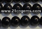 CRZ957 15.5 inches 6mm - 6.5mm round A+ grade natural sapphire beads