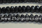 CRZ971 15.5 inches 3*5mm faceted rondelle A- grade sapphire beads