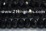 CRZ973 15.5 inches 5*7mm faceted rondelle A- grade sapphire beads