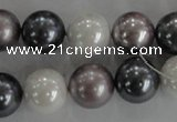 CSB1082 15.5 inches 12mm round mixed color shell pearl beads