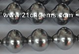 CSB176 15.5 inches 16*17mm lantern shape shell pearl beads