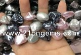 CSB2178 15.5 inches 16*16mm - 20*22mm baroque mixed shell pearl beads