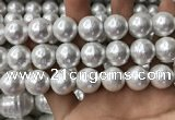 CSB2186 15.5 inches 20mm ball shell pearl beads wholesale