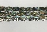 CSB4163 15.5 inches 15*20mm flat drum abalone shell beads wholesale