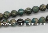 CSE5003 15.5 inches 8mm round natural sea sediment jasper beads