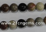 CSE5204 15.5 inches 12mm round sea sediment jasper beads wholesale