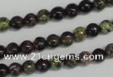 CSG65 15.5 inches 4mm round long spar gemstone beads wholesale