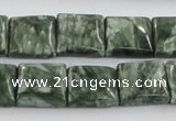 CSH11 15.5 inches 14*14mm square natural seraphinite beads