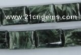 CSH12 15.5 inches 13*18mm rectangle natural seraphinite beads