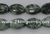 CSH55 15.5 inches 12*16mm oval natural seraphinite gemstone beads