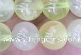 CSJ321 15.5 inches 10mm round serpentine new jade beads