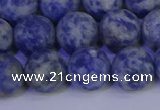 CSO534 15.5 inches 12mm round matte African sodalite beads wholesale