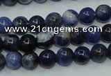 CSO60 15.5 inches 4mm round sodalite gemstone beads wholesale