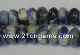 CSO62 15.5 inches 5*8mm rondelle sodalite gemstone beads wholesale
