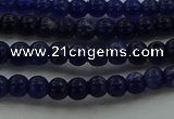 CSO630 15.5 inches 3mm round sodalite gemstone beads wholesale