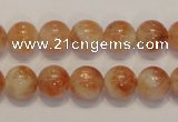 CSS17 15.5 inches 10mm round natural sunstone beads wholesale
