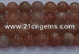 CSS661 15.5 inches 6mm round sunstone gemstone beads wholesale