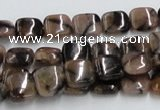CST08 15.5 inches 10*10mm square staurolite gemstone beads wholesale