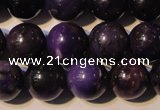 CSU115 15.5 inches 10mm round natural sugilite gemstone beads