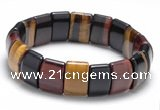 CTB23 7 inches 11*15mm tiger eye stretch bracelet wholesale
